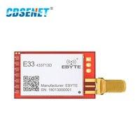 sma נקבה מודול RF 1pc SX1212 433MHz אלחוטי CDSENET E33-TTL-20 משדר SMA נקבה UART והמקלט (2)