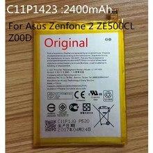 100% Оригинальные C11P1423 Батарея для ASUS zenfone2 ZE500CL z00d смарт-moble телефон с номер для отслеживания 2500 мАч