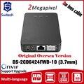 HIK DS-2CD6424FWD-10 2MP Cámara de Red Triple Separados flujos de vídeo 128 GB ROI HIKVISION PoE ONVIF H.264 12 VDC
