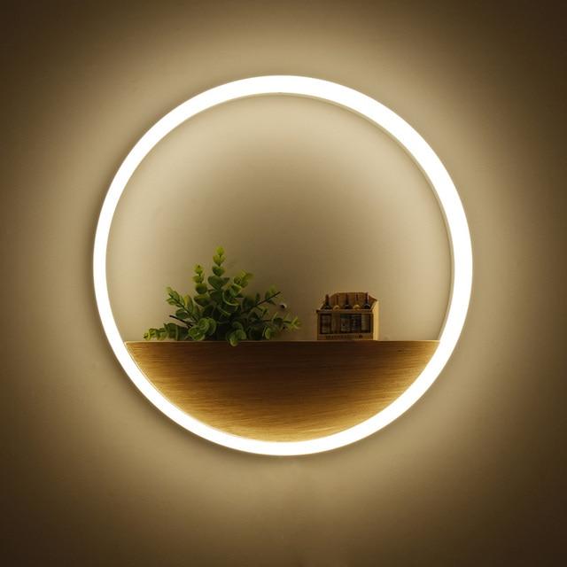 Modern LED Wall lights for bathroom aluminum hardware acrylic ...