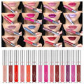 Sexy 12 Colores Mate A Prueba de agua de Larga Duración Lip Gloss Labial Maquillaje Cosmético de Maquillaje de Labios Líquido Brillo de labios
