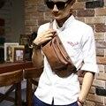 De los hombres de Cuero de LA PU Bolsas Pecho Xiao. p Marca Crossbody Bolsos para Hombres Impermeable Sling Cross Body Bags bolsa de Hombro bolsas Mochila