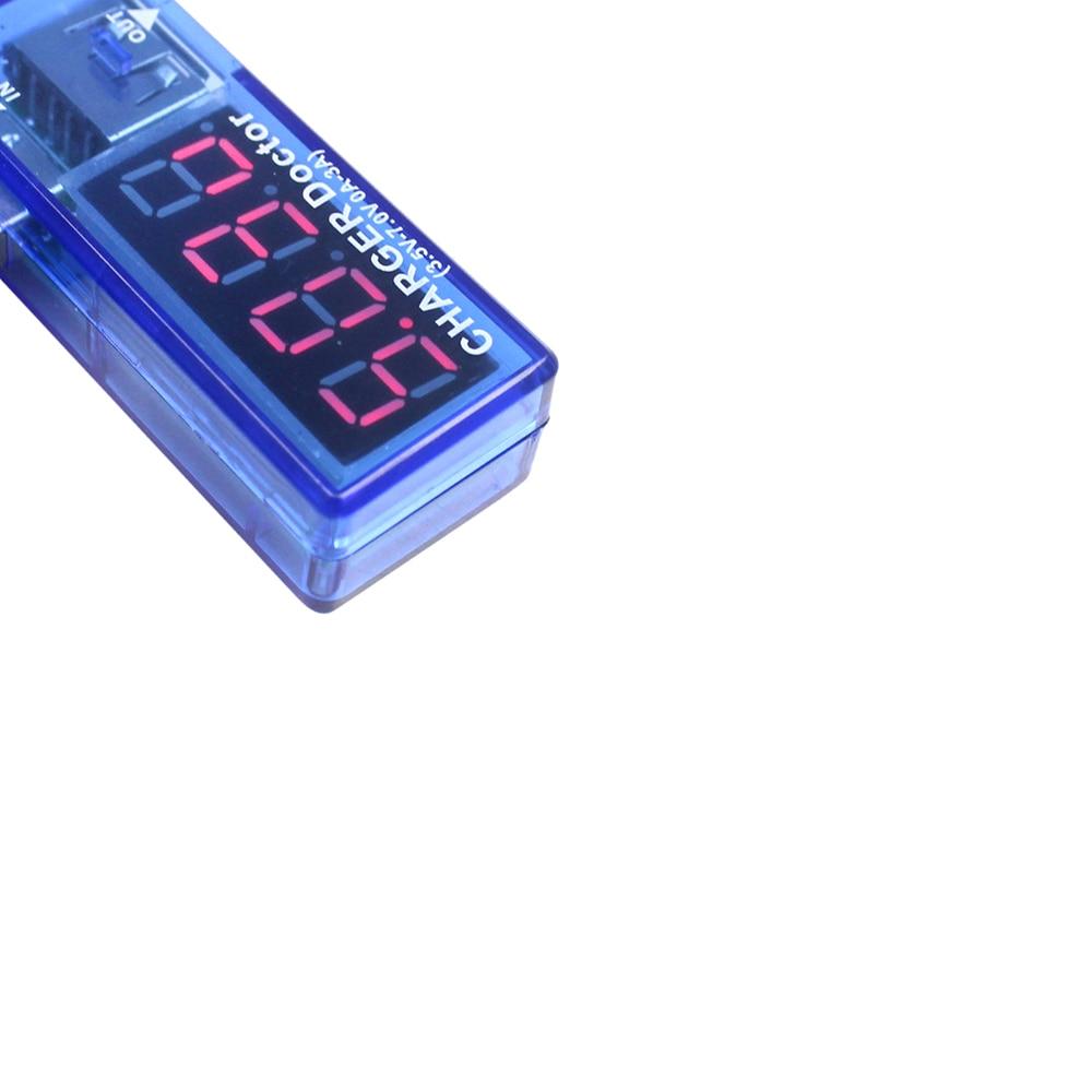 Inteligentna elektronika Cyfrowe USB Mobilne zasilanie Prąd Tester - Przyrządy pomiarowe - Zdjęcie 2