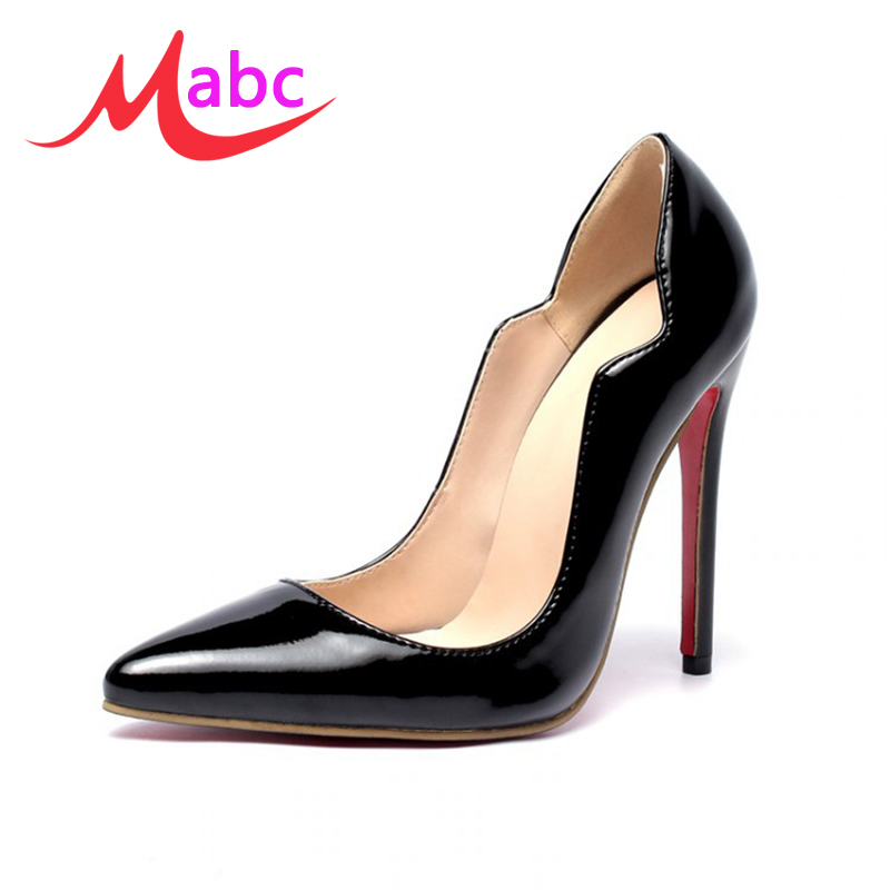 women red sole high heels shoes sexy pointed toe extreme heel stilettos wedding shoes chaussure