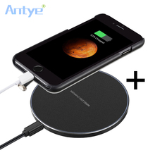 Qi Wireless Charger Charging Pad for iphone 7 7plus+Qi Receiver Case iPhone 7Plus For