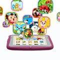4.3 Polegada CRIANÇAS Tablets Android PC WIFI Dual camera pc guia presente para o bebê e crianças tab pc 512 MB 4 GB guia CRIANÇAS