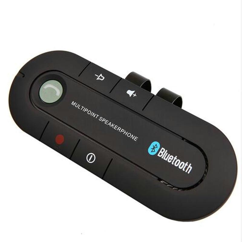 Hands free HYT Headset Bluetooth Speaker for Smartphones Multipoint Wireless Sun Visor Handsfree Bluetooth Car Kit Speakerphone