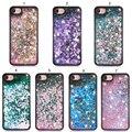 i6 i7 Soft Silicone Case Liquid Love Heart Stars Dynamic Liquid Quicksand TPU Phone Cocer Cases for iPhone 6 6s 7 Plus Coque