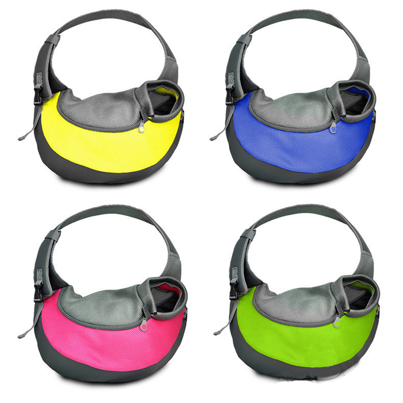 New Breathable Mesh Dog Shoulder Bag Small Dog Sling Front Carrier Comfortable Pet Backpack Carrier Carrying Cat Dog Puppy #3