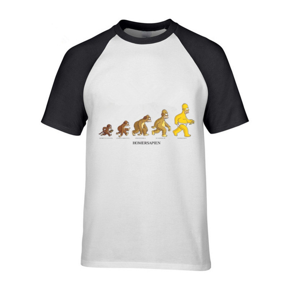 6da00c25 Homme Short Sleeve T-Shirts The Simpson Family Mens Casual Tee ...