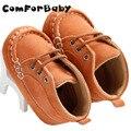 Rendas de algodão Antiderrapante Sapatos de Bebê Toddler Sapatos Fundo Macio Sapatos Meninos Primavera Cor Sólida de Alta-top Sapatos WMC236