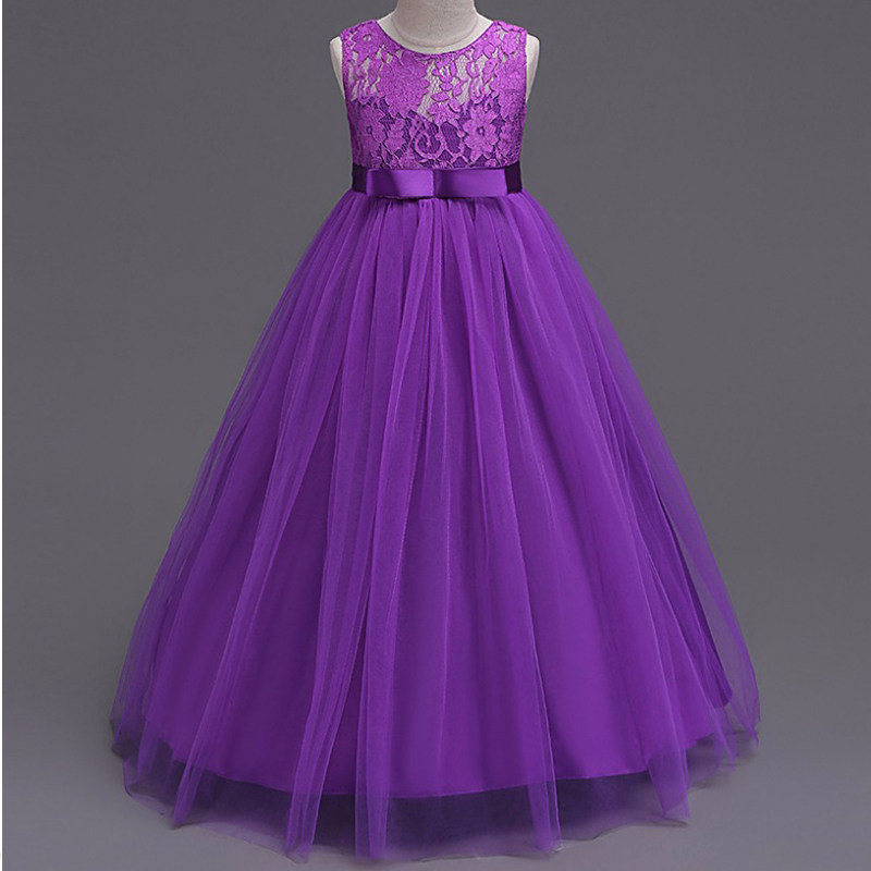 Tienda Online Moda sin mangas niños vestido para la boda vestido de ...