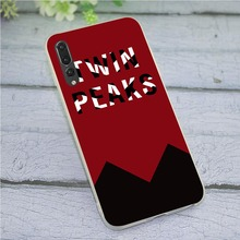 цена на Cover for Huawei Mate 20 Lite Twin Peaks Fire Walk with Me Phone Case for P Smart 2018 2019 10 Pro P8 P9 P10 P20 P30
