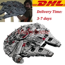 LEPIN 05033 5265Pcs Star Wars Ultimate Collector s Millennium Falcon Building Block Set Minifigures Bricks Compatible