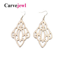 Carvejewl Neo-Gothic earrings simple metal hollow out drop dangle earrings for women jewelry girl gift unique personality earing цена и фото