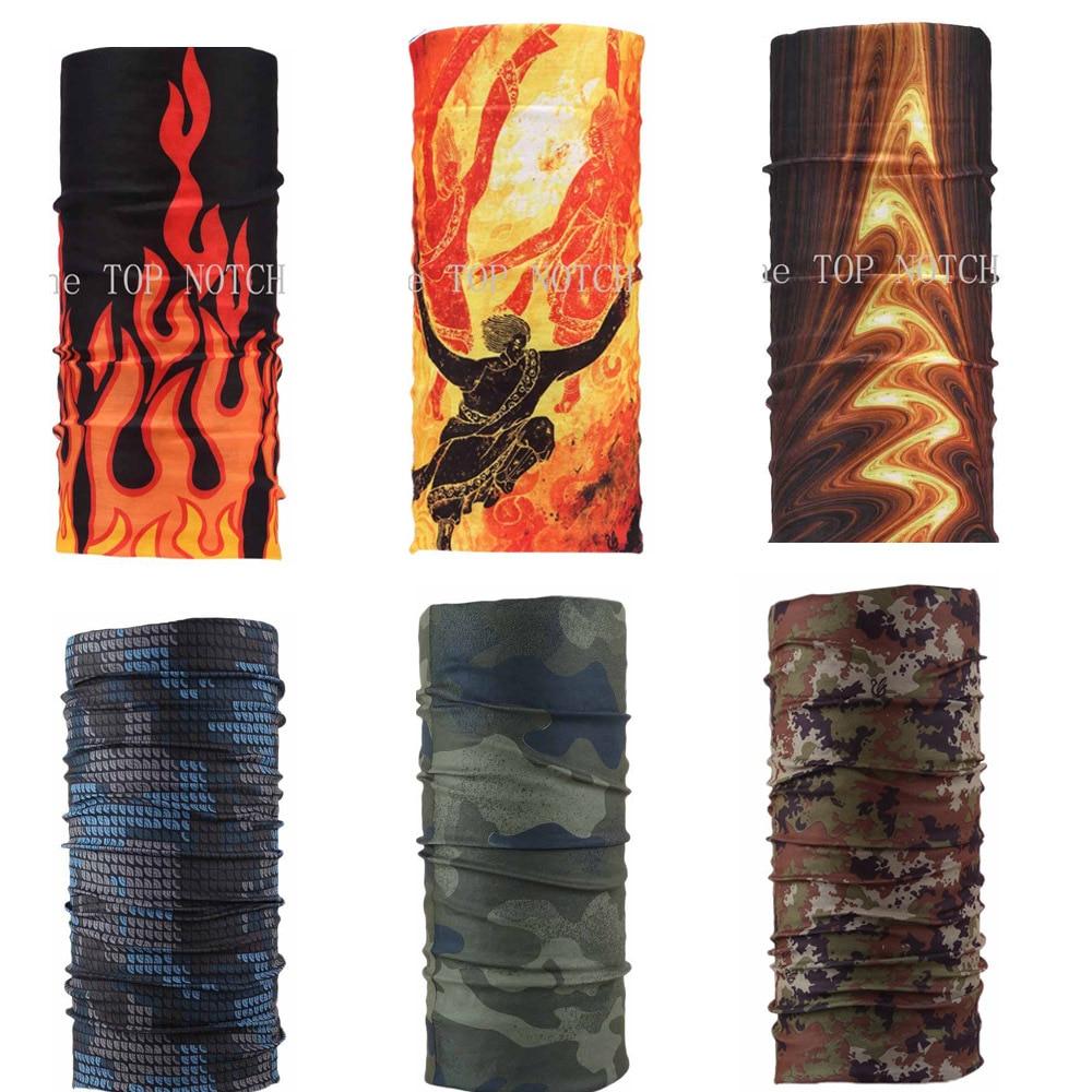 Fashion Multifunctional Seamless Scarf Bandana Headwear Burner Mask Burning Man 6PCS