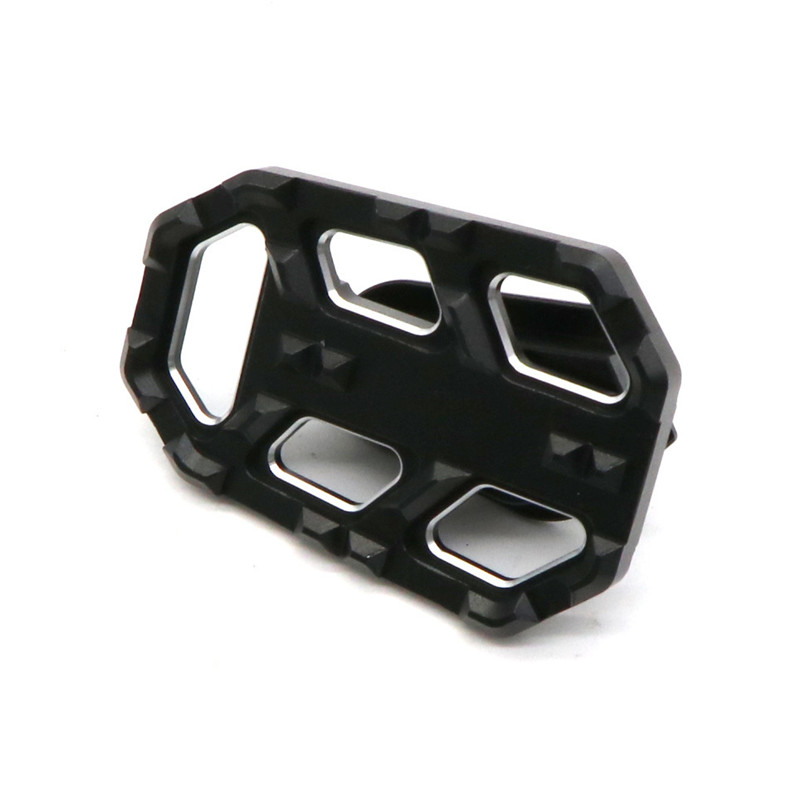 1 Pair Universal Motorcycle Modification Widen Foot Pedal Cushion Block For BMW G310GS 18-19