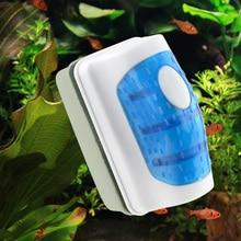 Магнитная щетка аквариума, аквариум, стеклянный водоросли, скребок для чистки, плавающая кривая, Прямая поставка для домашнего использования, аквариум для воды