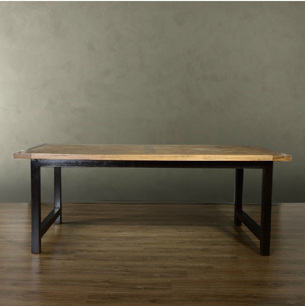dining table and chairs combination of american retro to
