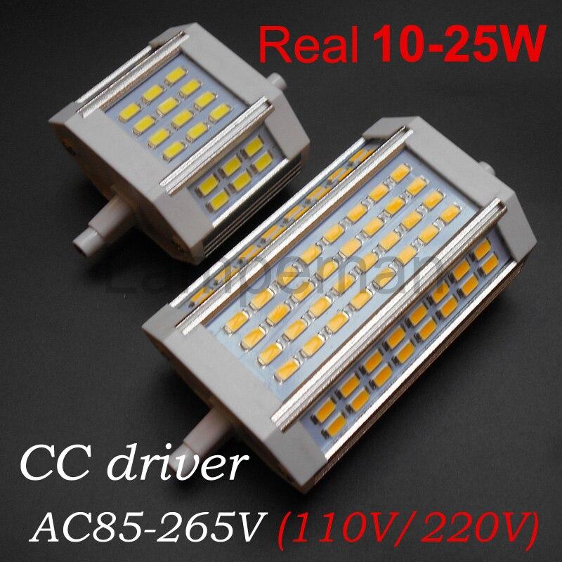 Ampoule r7s led 78mm 118m 10w 18w 20w 25w 30w 35w 64led for Led r7s 78mm 20w