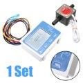 Mayitr misuratore di Portata A CRISTALLI LIQUIDI Digital Misuratore di Portata Olio Combustibile Con 13 millimetri Benzina Sensore di Flusso Gear DC 12-24 V