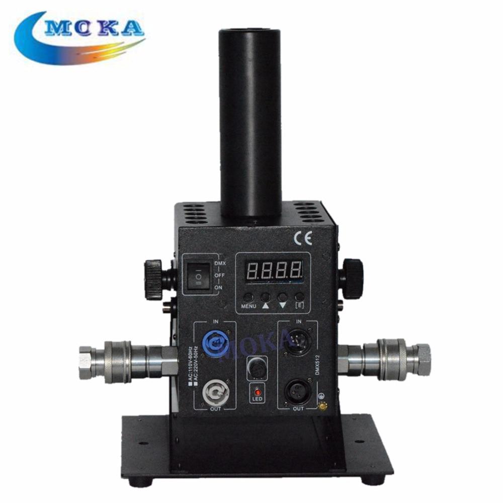 Disco Dj Equipment CO2 Jet Machine Stage Effect DJ With 12pcs Lighting rgb Controller CO2 Jet