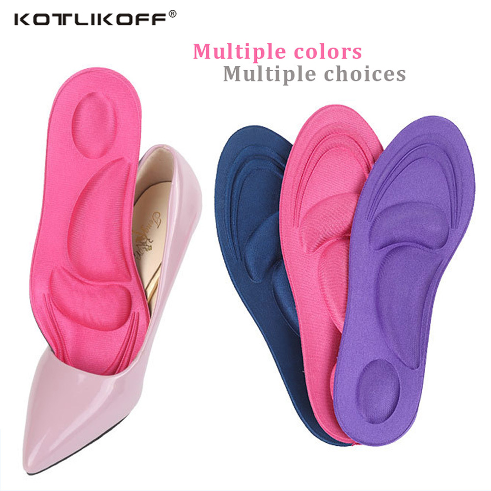 KOTLIKOFF 4D Sport Sponge Shoe Insoles Orthotic Arch Support Orthopedic Insole For Shoes Massage Pain Relief Insert Cushion PadsKOTLIKOFF 4D Sport Sponge Shoe Insoles Orthotic Arch Support Orthopedic Insole For Shoes Massage Pain Relief Insert Cushion Pads
