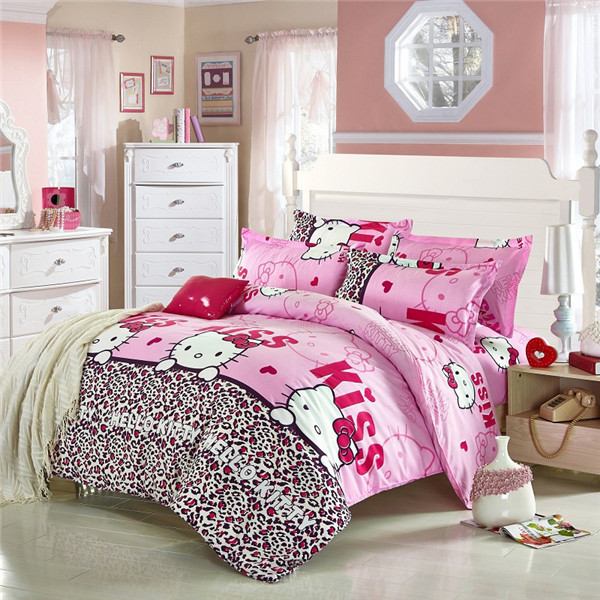 hello kitty bedroom furniture buy free shipping pink hello kitty bedding set bed 15539