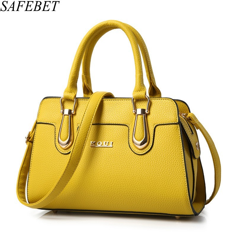 SAFEBET Brand Designer Trend High Quality PU Leather Women Bag Travel Portable Female Messenger Bags Ladies Fashion Shoulder Bag safebet brand crocodile pattern fashion men shoulder bags high quality pu leather casual messenger bag business men s travel bag
