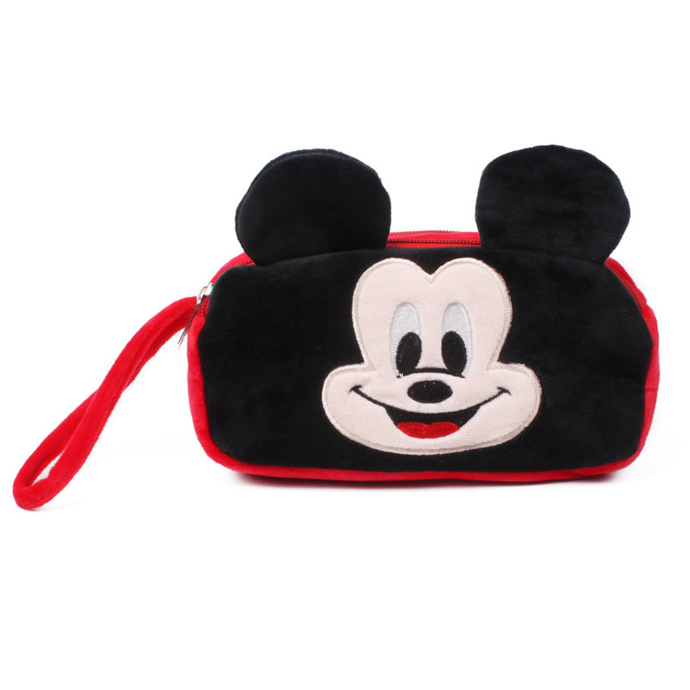 Micky Mouse Coin Purse Cute Cartoon Coin Purse for Phone Key Chain Hand Take Bag for Kids