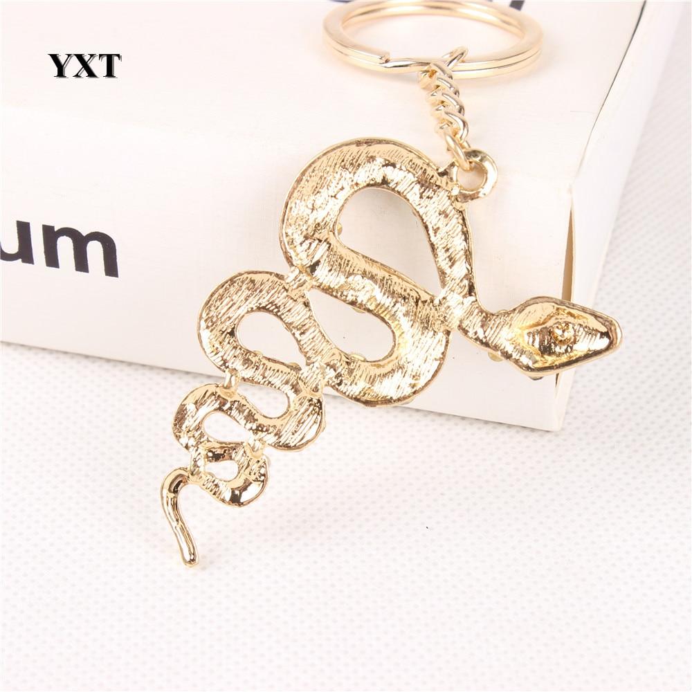 Jauna čūskas laimes cute kristāla šarma kulona maka rokassomu - Modes rotaslietas - Foto 3