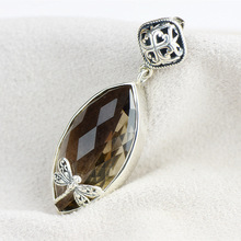 925 Sterling Silver Pendant inlaid Pendant