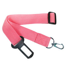 5 Color Adjustable Pet Dog Safety Puppy Car Safe Belts Restrict Rope Seat Belt Nylon Solid Color Doggy Auto Restraint Lead Leash(China)