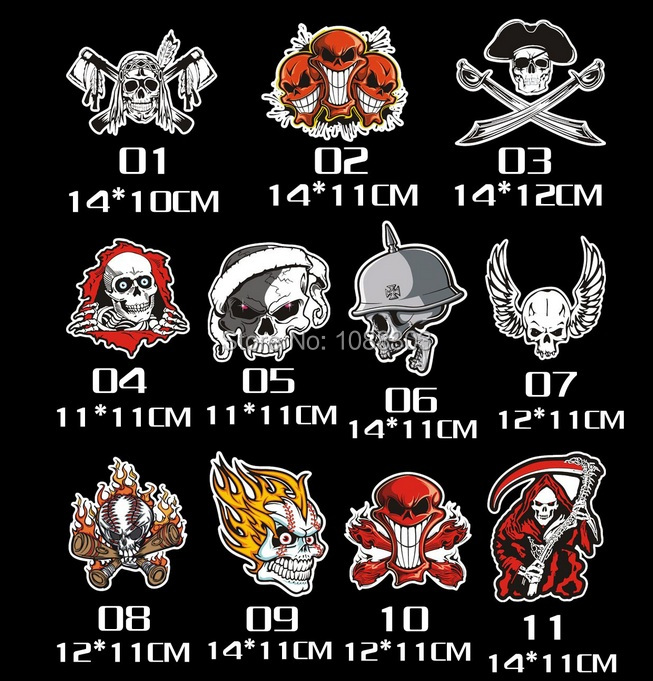 Compare Prices On Skull Helmet Decals Online ShoppingBuy Low - Motorcycle helmet decals and stickers
