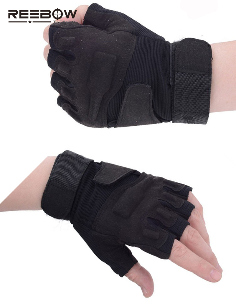 Onebow тактические уличные рабочие перчатки без пальцев мужские охотничьи велосипедные мотоциклетные спортивные американские военные городские спецназ