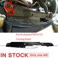 Для Evolution EVO 4 5 6 охлаждающая панель из углеродного волокна для Mitsubishi глянцевые бамперы аксессуары