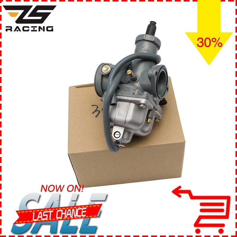 ZS Racing Nouveau Keihin PZ26 PZ27 PZ30 Moto Carburateur Carburador Utilisé Pour Honda CG125 Et D'autres Modèle Moto