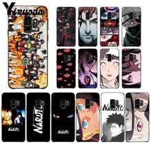 Yinuoda Cartoon Naruto Sasuke Kakashi  Popular Custom TPU Phone Cover For GALAXY s7 edge s8 plus s9 plus s6 s6 edge s10 все цены