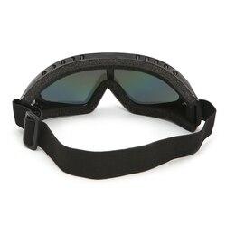 Uniwersalny bezpieczeństwo na zewnątrz okulary soczewki do gogli górskie gogle narciarskie jazda konna okulary wiatroszczelne