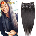 """14""""--24"""" 7A Brazilian Clip In Human Hair70g/80g/100g/120g Remy Clip In Real Human Hair Extension Black,Brown,Blonde Piano Color"""