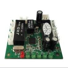 Mini ontwerp ethernet schakelaar printplaat voor ethernet switch module 10/100 mbps 5 port PCBA boord
