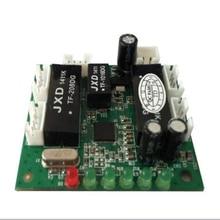 Mini tasarım ethernet anahtarı devre ethernet anahtar modülü 10/100 mbps 5 port PCBA kurulu