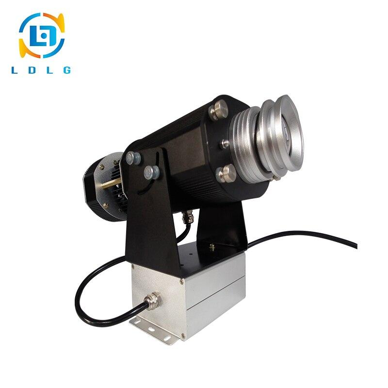 BIG Promotion Indoor Use Rustproof Alloy 40W LED Logo Gobo Projector Festival Decoration 4500 Lumens Gobo Image Projector Lights