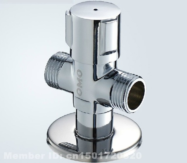 Angle Valve With High Quality 3 Way Brass Angle Valve Kitchen Tap ...