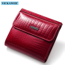 Genuine Leather Alligator Small Wallets SF