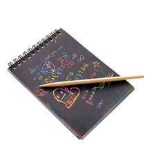 Волшебная вертушка, художественная бумага, живопись, книга, картинки-раскраски, скрапание, рисование, игрушки для детей, обучающая игрушка, тетрадь с трафаретами