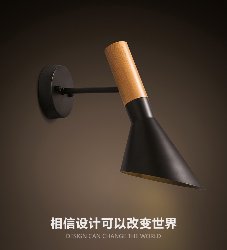 Free Shipping Modern Wall lights Creative AJ Wall lamp Modern Sconce 1 Light besshof aj py6 1 red