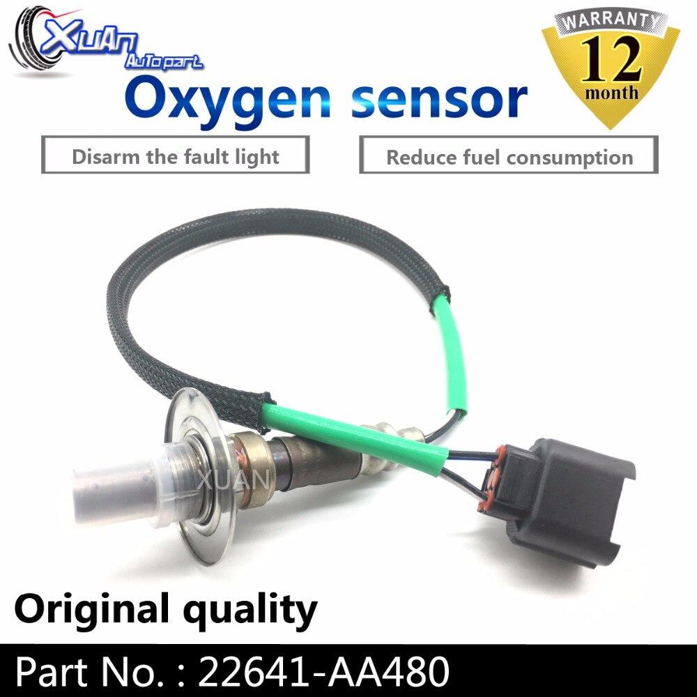 XUAN Oxygen O2 Lambda Sensor Air Fuel Ratio Sensor 22641-AA480 For SUBARU Liberty FORESTER IMPREZA LEGACY 22641-AA381XUAN Oxygen O2 Lambda Sensor Air Fuel Ratio Sensor 22641-AA480 For SUBARU Liberty FORESTER IMPREZA LEGACY 22641-AA381