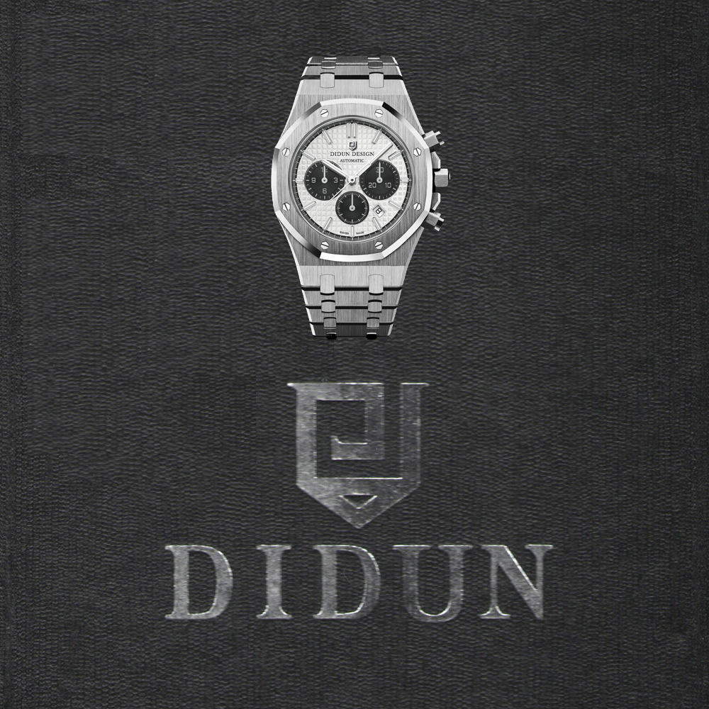 DIDUN Mens Watches Top Brand Luxury Quartz watch Waterproof Wristwatch Steel watch didun watches men luxury brand watches mens steel quartz watches men diving sports watch luminous wristwatch waterproof