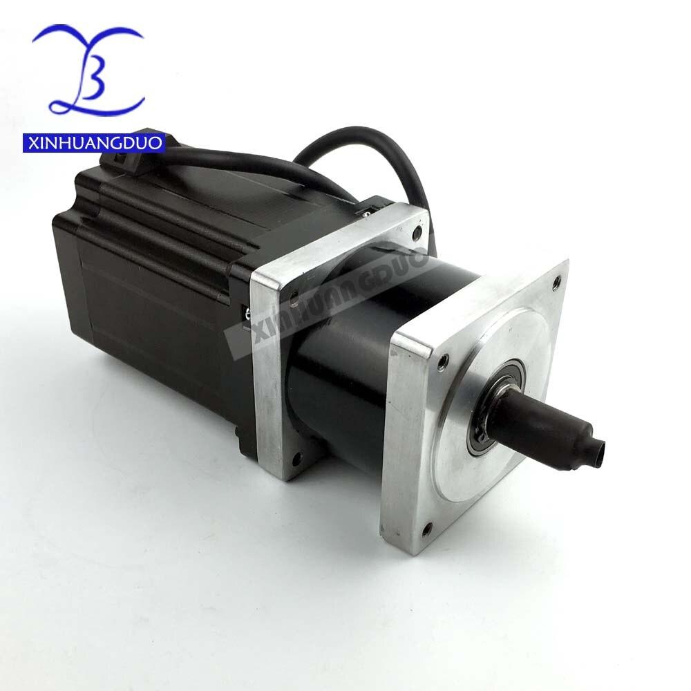 5:1 NEMA34 Planetary Reducer Gearbox Stepper Precesion Model Geared Stepper Motor Body Length 115 mm
